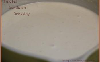 Falafel Sandwich Dressing