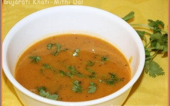 Gujarati Khati-Mithi Dal