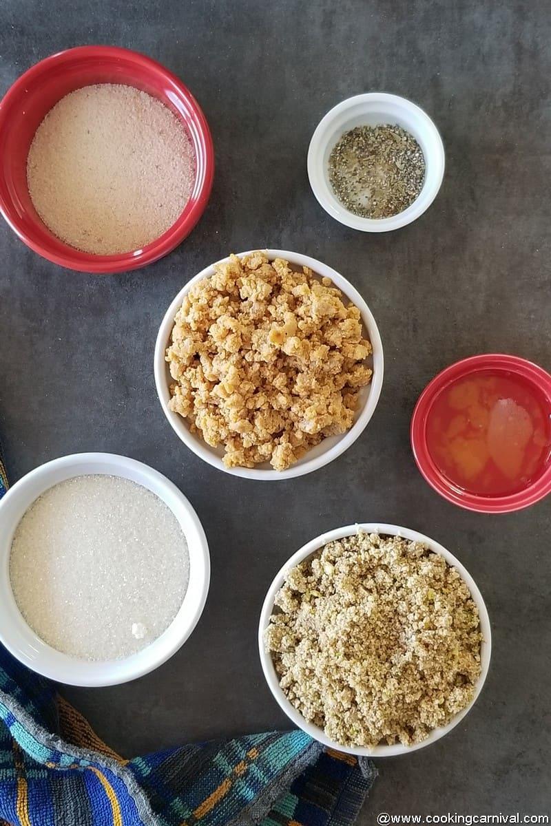 Ingredients for mawa Gujiya