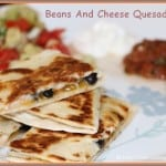 Beans And Cheese Quesadilla