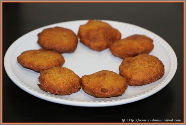 Kali Chaudas Na Vada, Multi grain fritters, vada