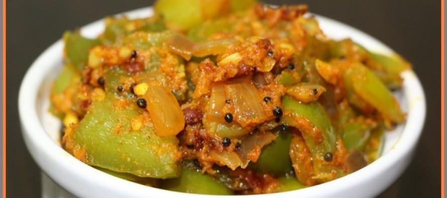 Capsicum Masala Curry