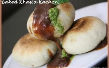 Baked Khasta Kachori