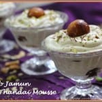 Gulab Jamun In Thandai Mousse