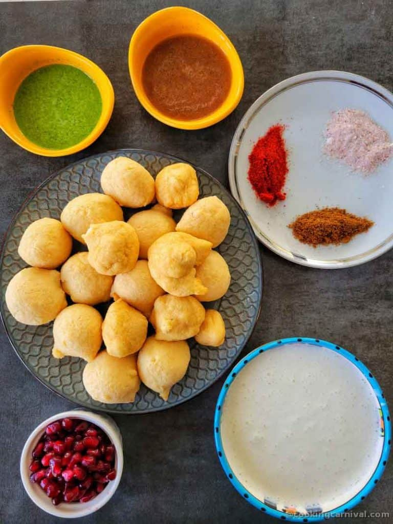 components required to make dahi vada