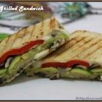 Veggie Grilled Sandwich