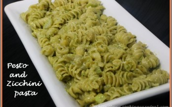 Pesto And Zucchini Pasta
