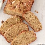 Whole Wheat Nutty Banana Bread
