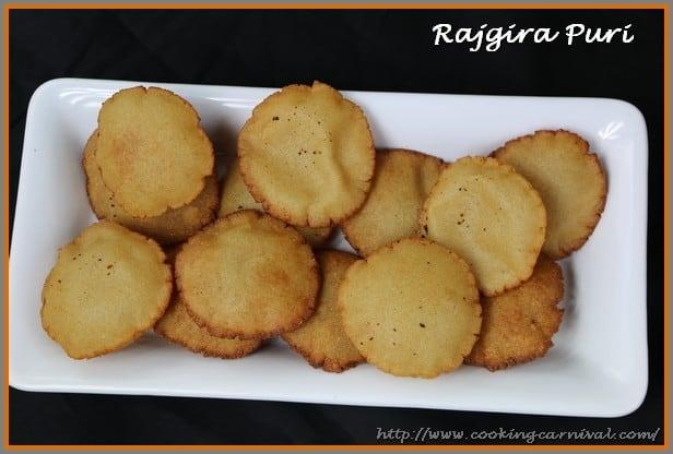Rajgira Ni Puri