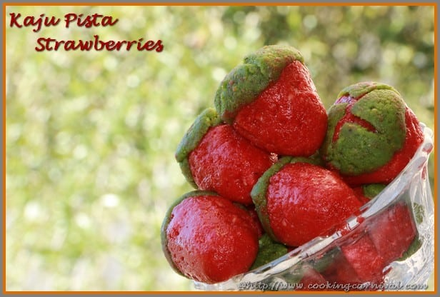 Kaju Pista Strawberries