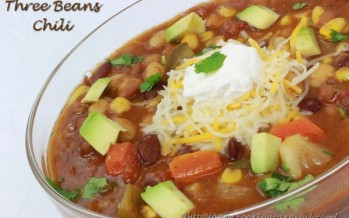 Three Beans Chili