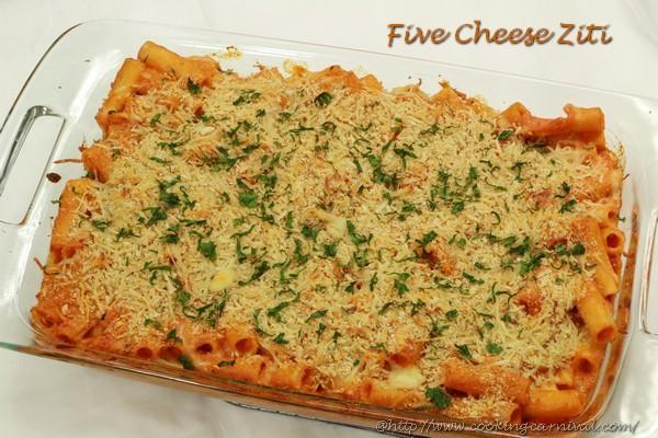 Five Cheese Ziti