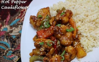 Hot Pepper Cauliflower