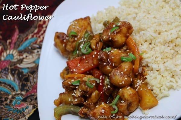 Hot Pepper Cauliflower