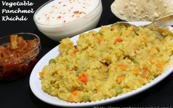 Vegetable Panchmel Khichdi
