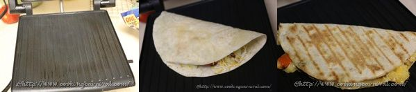 Oven Roated Veggie Quesedilla _9to11