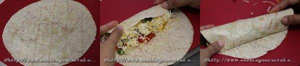 Oven Roasted Veggie Enchilada