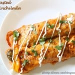 Oven Roasted Veggie Enchilada