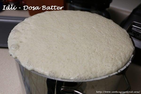 Idli Dosa Batter