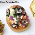 Black Olive Bruschetta