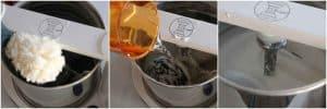 Grinding rice in wet grinder