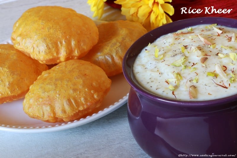 Rice kheer cookingcarnival making rice kheer at home is very easy it takes only 30 minutes to prepare it requires very few ingredients rice kheer is made in two ways ccuart Gallery