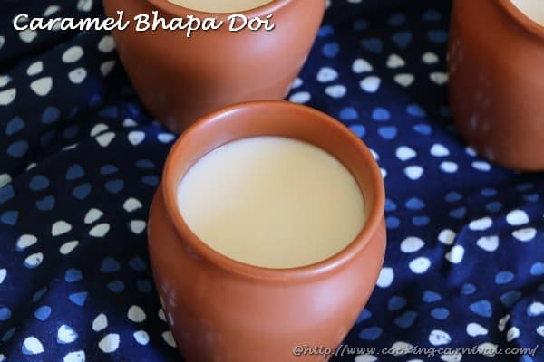 Caramel Bhapa Doi