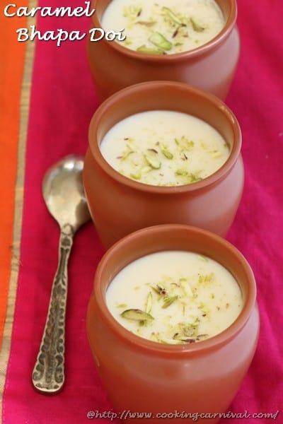 Caramel Bhapa Doi
