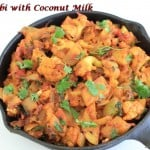 Aloo Gobi With Coconut Milk