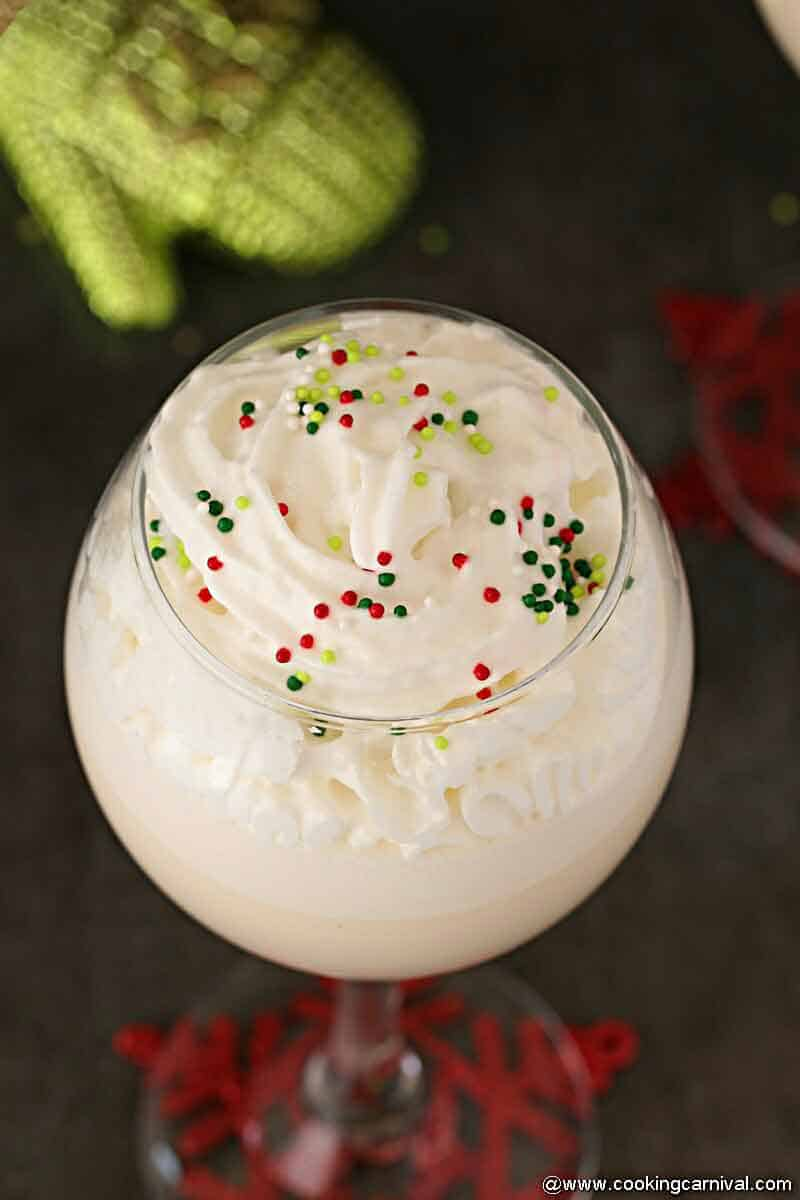 White Christmas Punch