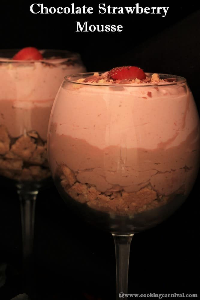 Chocolate Strawberry Mousse
