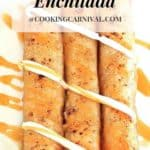 enchilada for fall / enchilada dessert / fall dessert / Apple Pie Enchilada