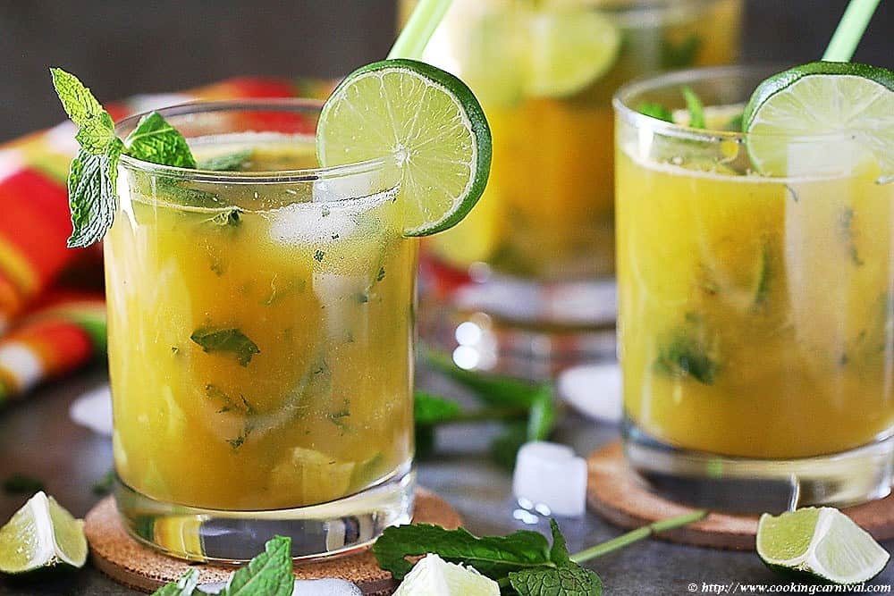 Mango Ginger Virgin Mojito