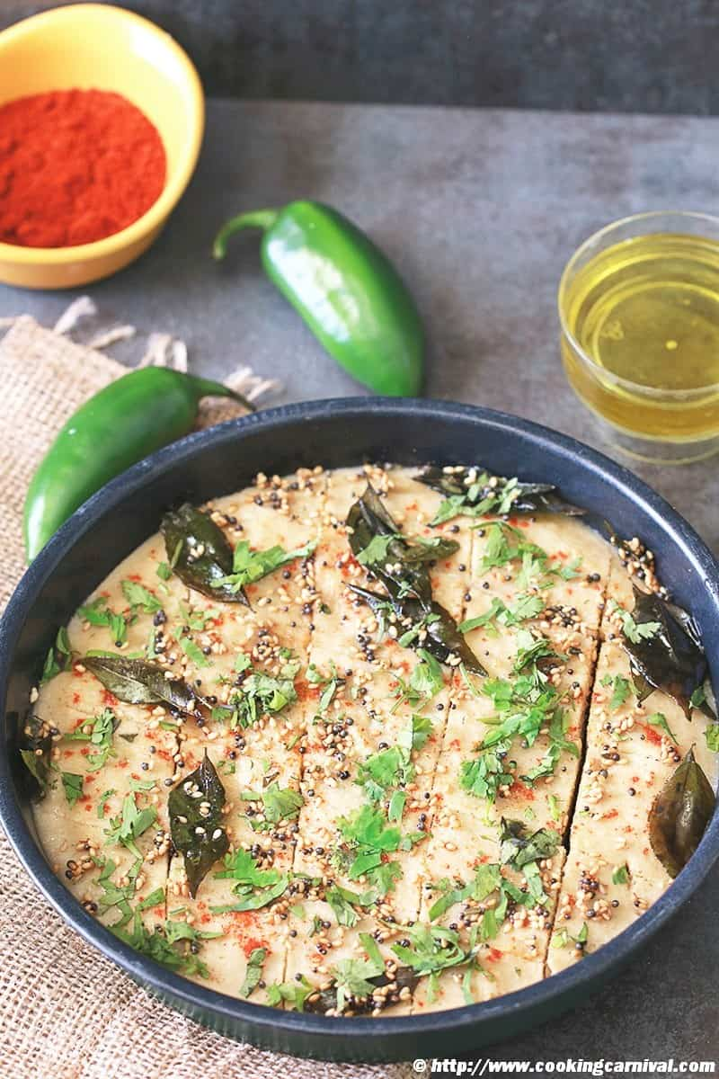 Quinoa Oats And Lentil Dhokla
