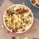 Roasted Oats Papad Chivda