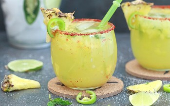Virgin Pineapple Jalapeno Margarita