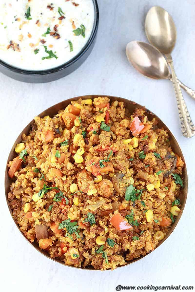 quinoa recipes indian style / Quinoa in instant pot / Pilaf in instant pot