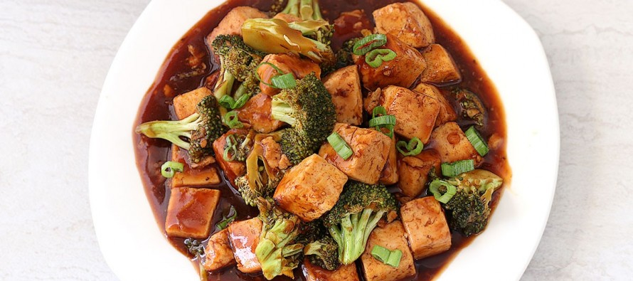 Orange Tofu Broccoli