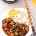 Orange Tofu Broccoli