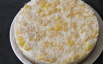 No Bake Pineapple Delight Cake