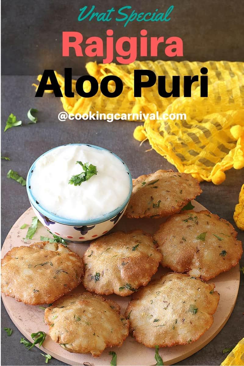Rajgira Aloo Puri