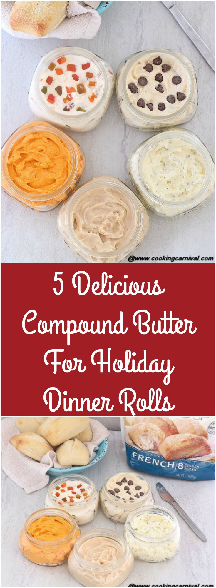 5 delicious Compound Butter For Dinner Rolls