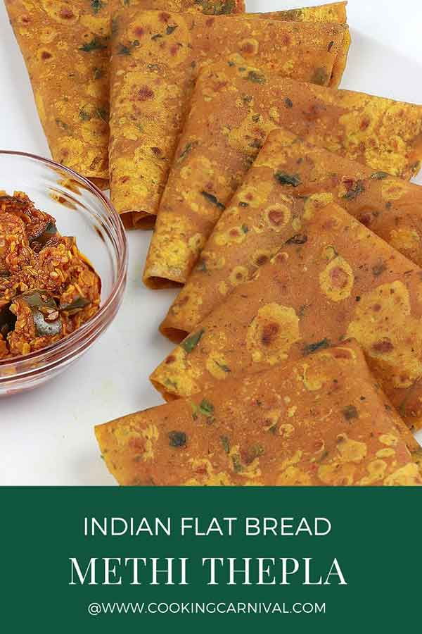 Methi thepla / Gujarati Theple / Gujju thepla / Indian Flat bread