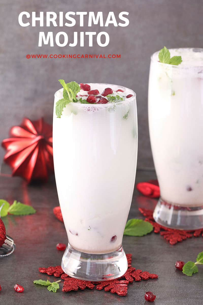 Coconut Mojito / christmas drink / party drink