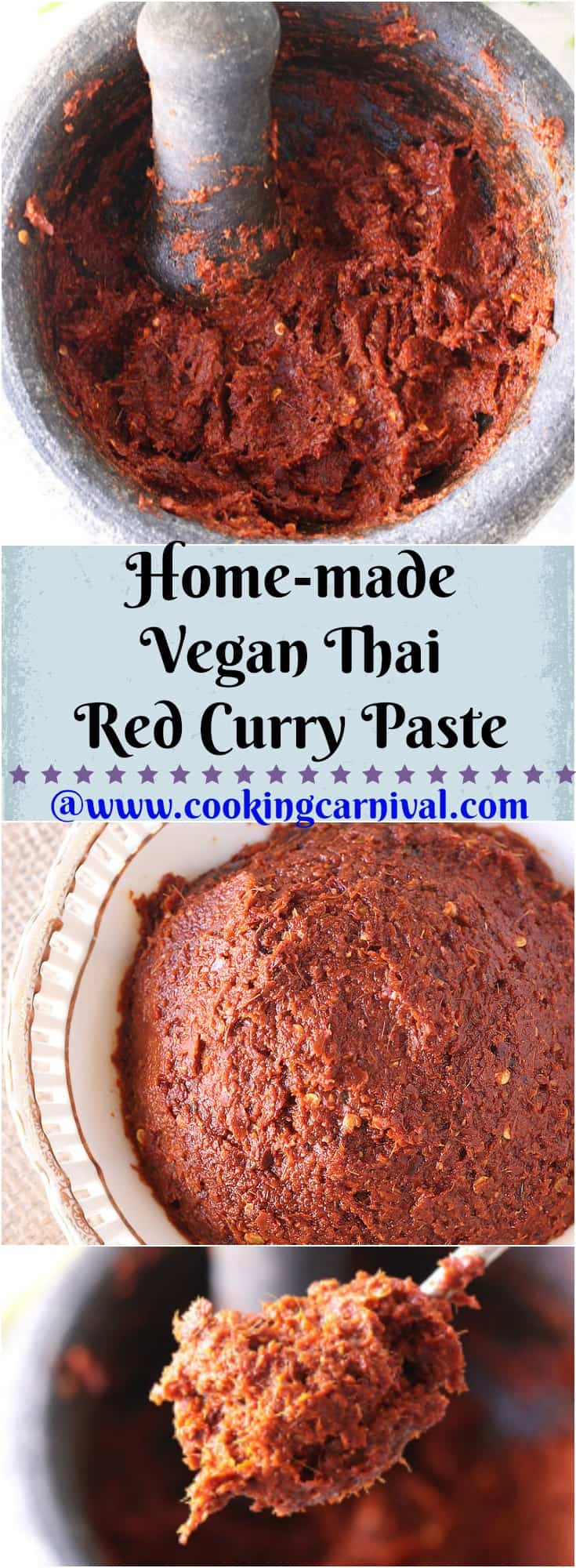 Homemade Thai Red Curry Paste