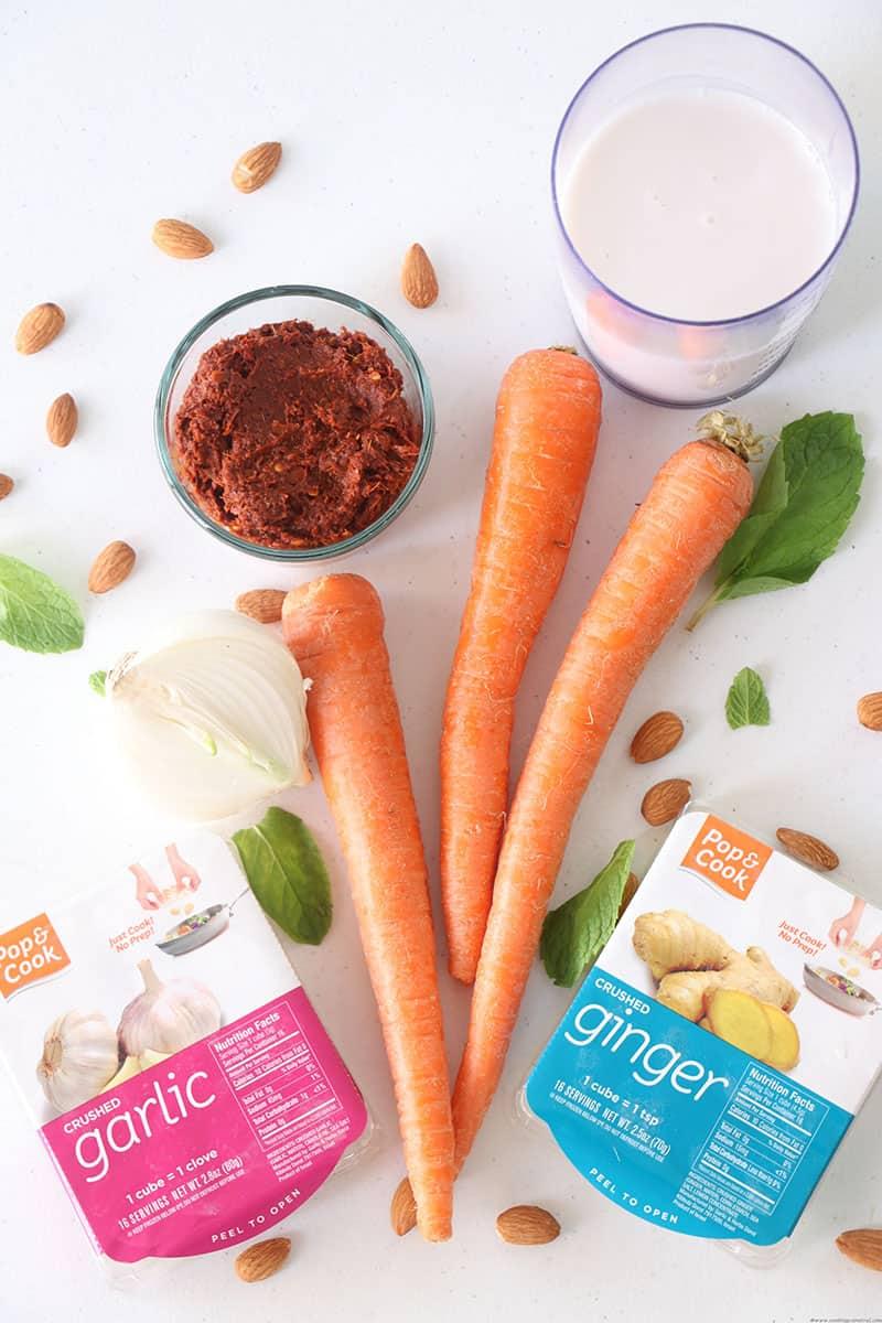 Ginger Garlic Carrot Soup