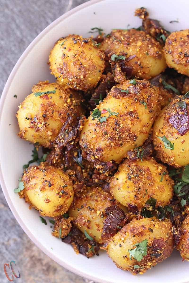 Chettinad Potato Fry