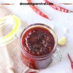 Schezwan-Sauce | Homemade Schezwan Sauce | Spicy chili sauce |
