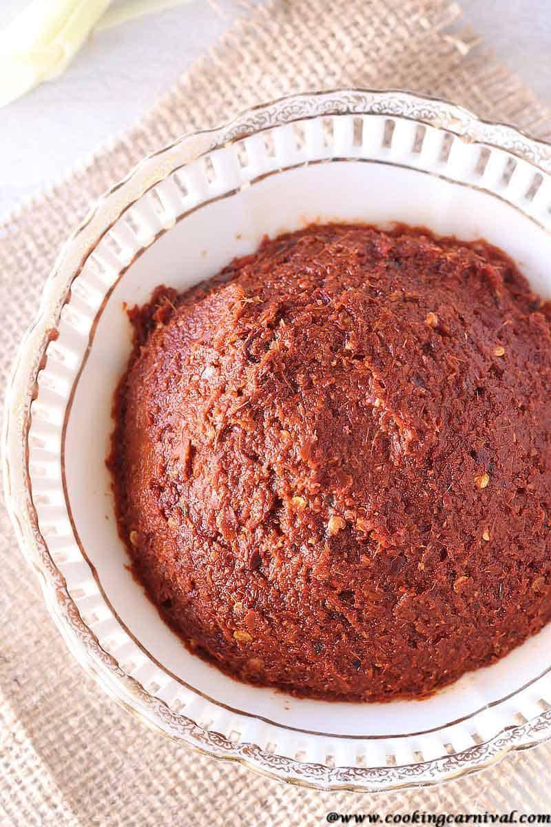 Authentic Thai red curry paste recipe