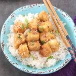 SWEET SOUR CRISPY TOFU 30 MINUTE MEAL